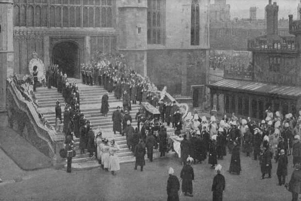 James Russell & Sons - Queen Victorias funeral procession