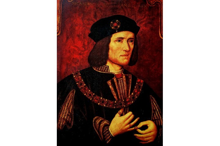 "Portrait of Richard III of England. The discovery of his body under a Leicester car park in 2012 has been ""one of the greatest breakthroughs of our age,"" says Mark Ormrod. (Universal History Archive/UIG via Getty Images)"