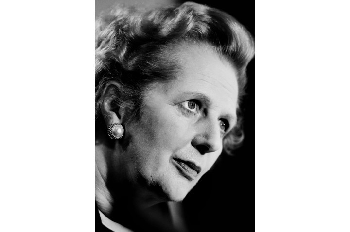 Former prime minister Margaret Thatcher. Even after her death in 2013, her record continued to be fiercely contested. (Tom Stoddart/Getty Images)