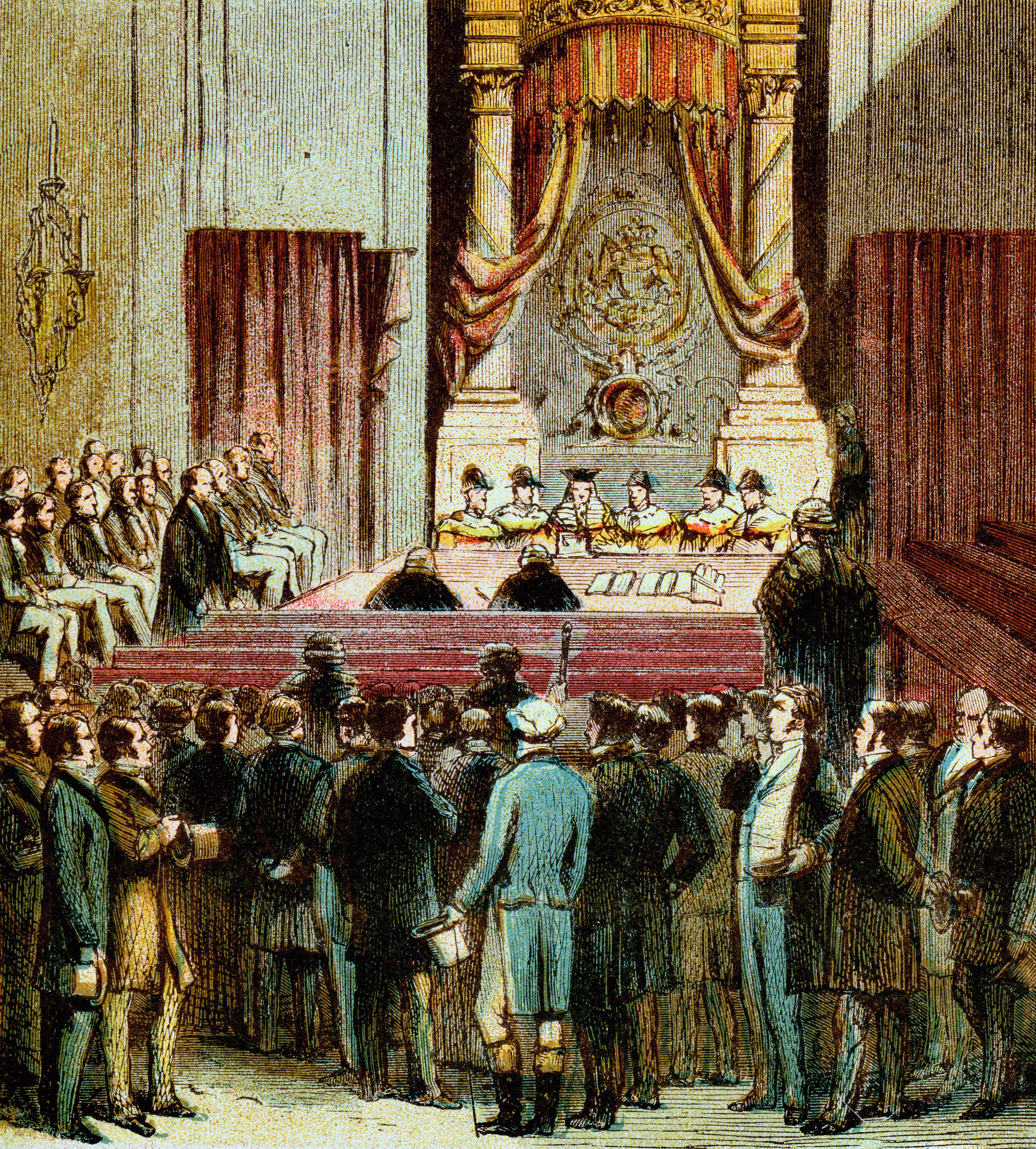 The 1832 Reform Act made wide-ranging changes to the British electoral system, creating 67 new constituencies, disenfranchising 56 boroughs and reducing another 31 to a single MP. (The Print Collector/Print Collector/Getty Images)
