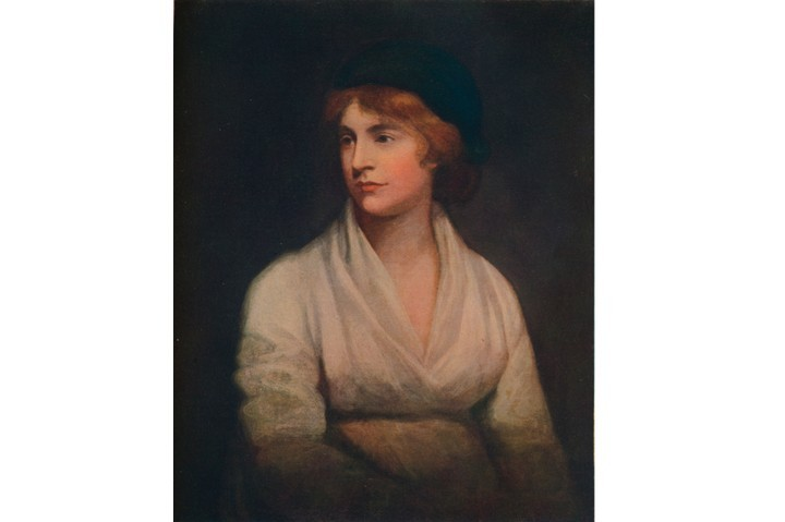 "A portrait of Mary Wollstonecraft. ""She desperately wanted women to have the chance of an education and not set their sights too low,"" says Jo Brand. (Getty Images)"