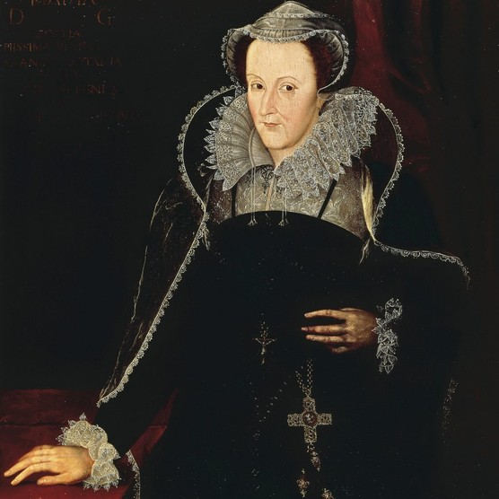 """A c1610 portrait of Mary, Queen of Scots, a """"charming and ill-fated woman brought down by forces beyond her control"""". (DeAgostini/Getty Images)"""