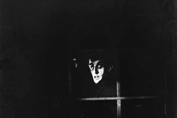 Max Schreck took the title role in the 1922 German silent film 'Nosferatu', inspired by Bram Stoker's 'Dracula'. The film enjoys a cult following. (Photo by ullstein picture / ullstein picture via Getty Images)