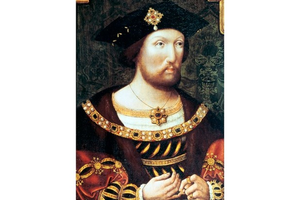 King Henry VIII, shown here around 1520, was in his early 20s when his decision to attack France challenged the position of James IV. (Ann Ronan Pictures/Print Collector/Getty Images)