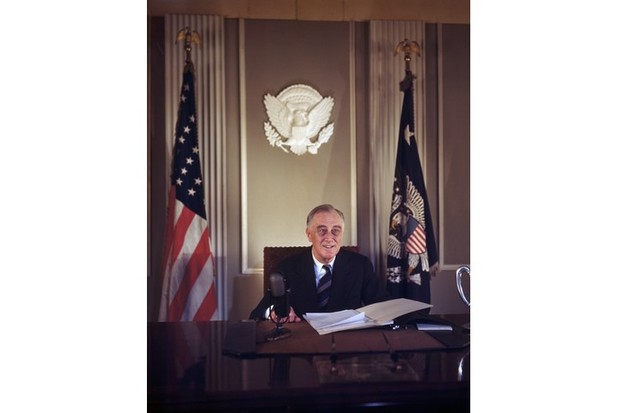 "Franklin D Roosevelt, the 32nd president of the USA, and a ""hugely important figure in the history of the 20th century"". (Getty Images)"