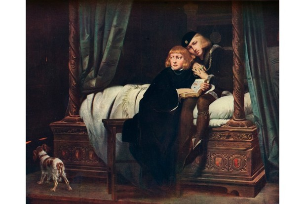 Paul Delaroche's 19th-century painting shows King Edward V and the Duke of York in the Tower of London. What happened next has puzzled historians for centuries. (The Print Collector/Print Collector/Getty Images)