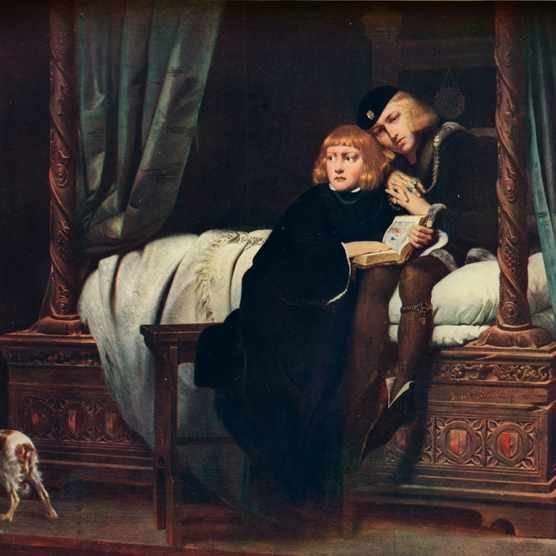 The Young Princes in the Tower, 1831 (1910). Artist: Paul de la Roche