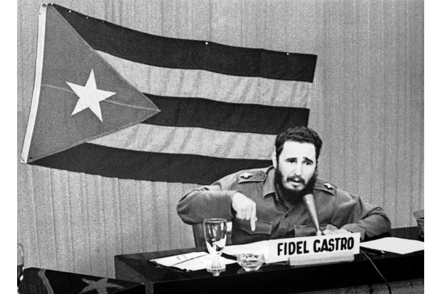 Among Nikita Khrushchev's reasons to dispatch nuclear weapons to Cuba was a desire to defend his ally, Fidel Castro – the communist revolutionary who had taken the reins of power in Cuba three years earlier. (Photo by Keystone-France/Gamma-Keystone via Getty Images)