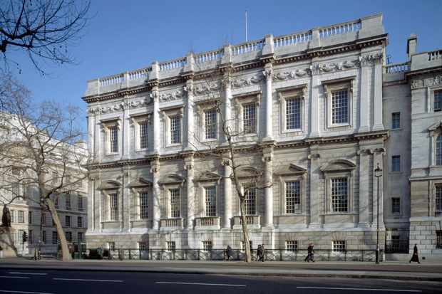 Banqueting House, London, where Charles I was executed on 30 January 1649. (Photo by Angelo Hornak/Corbis via Getty Images)