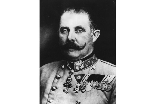 Archduke Franz Ferdinand of Austria, whose assassination prompted the outbreak of the First World War. (Photo by Hulton Archive/Getty Images)