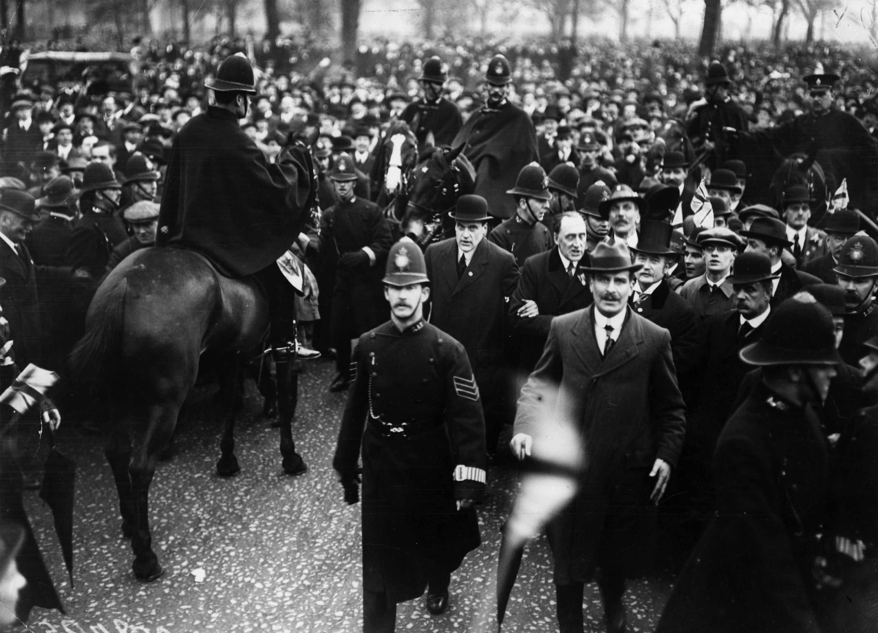 The Great Ulster Rally in Hyde Park, April 1914.