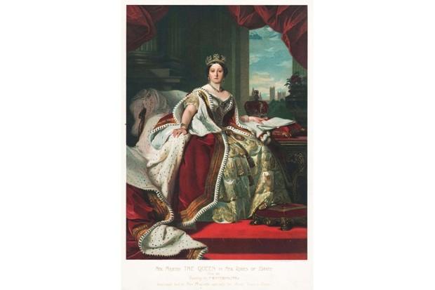 Portrait of a young Queen Victoria, c1850, by F Winterhalter