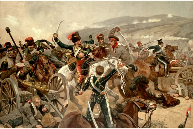 An illustration of the charge of the Light Brigade at Balaclava during the Crimean War. (Photo by Time Life Pictures/Mansell/The LIFE Picture Collection/Getty Images)
