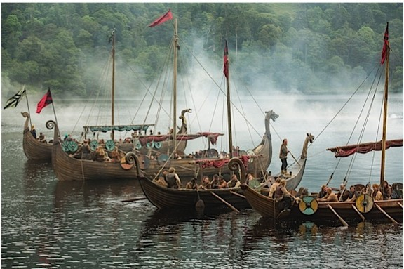 A still from 'Vikings' series 3, episode 1.