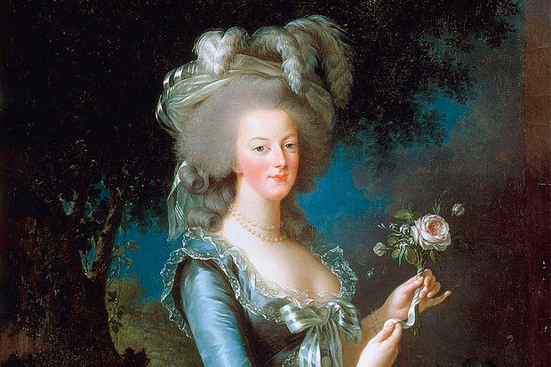 A portrait of Marie Antoinette