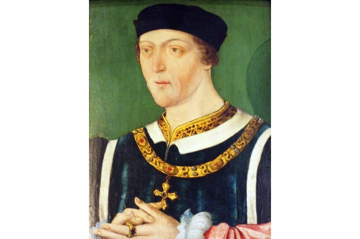 Portrait of King Henry VI by an unknown artist. (Photo by Universal History Archive/UIG via Getty Images)