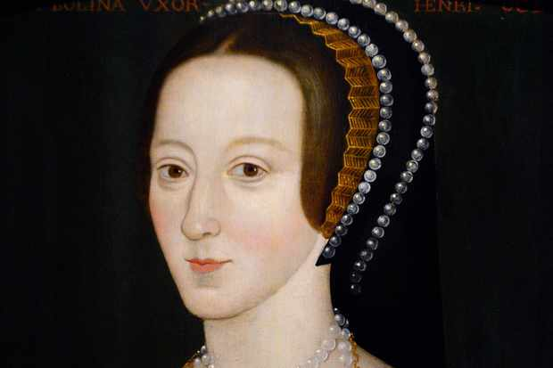 A late 16th century portrait of Anne Boleyn (c.1500-1536)