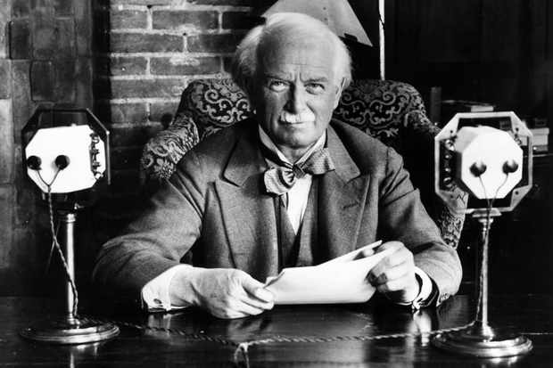 Liberal MP and former prime pinister David Lloyd George. (Photo by Jimmy Sime/Central Press/Getty Images)