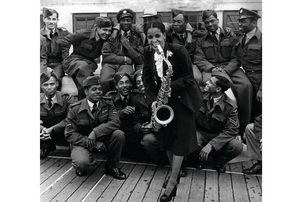 Mona Baptiste, a Trinidad-born blues singer