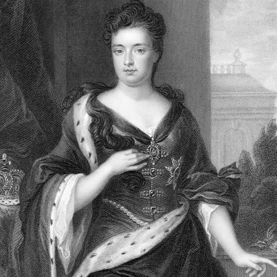 A portrait of Queen Anne of Great Britain and Ireland.