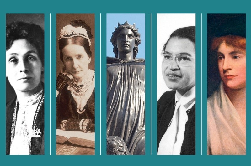 The results of the poll: 100 women who changed the world. (Photos by Getty Images/Alamy)