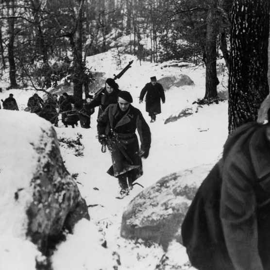 The maquis du Vercors were a rural group of French resistance fighters who converged on the Vercors plateau in south-east France.(Photo by Keystone-France/Gamma-Keystone via Getty Images)