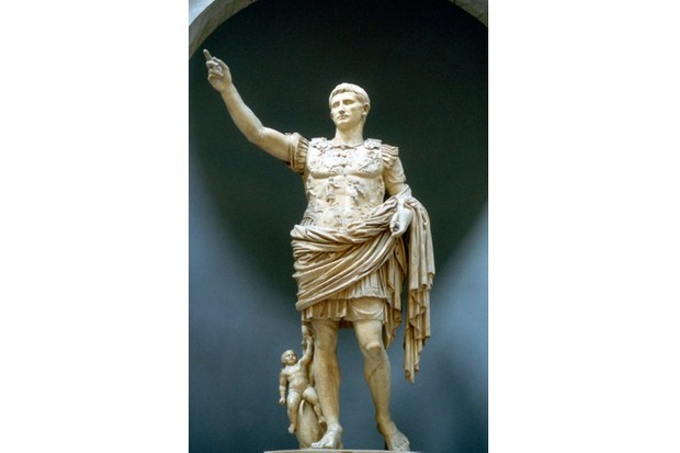 Augustus Caesar was named named as the principal heir of Julius Caesar. (Photo by Ann Ronan Pictures/Print Collector/Getty Images)