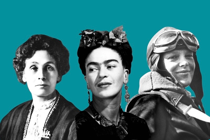 100 women who changed the world results. (Images by Getty Images)