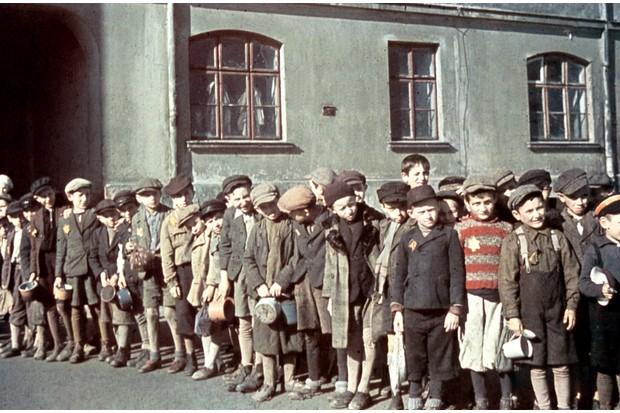 Children in the Lodz ghetto
