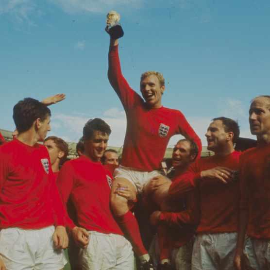 England captain Bobby Moore