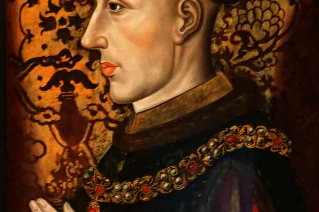 Portrait of King Henry V of England (1387-1422), dated 15th century. (Photo by Universal History Archive/UIG via Getty Images)