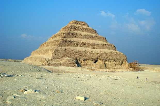 The step pyramid of Djoser, Saqqara