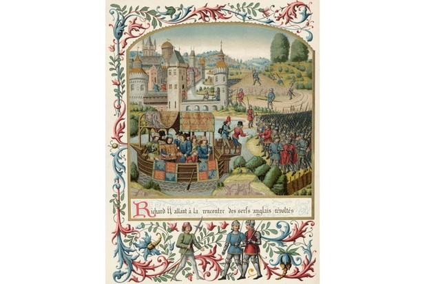 The Peasants' Revolt: did Richard II side with the rebels?