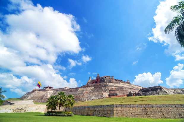 Historic San Felipe de Barajas castle is one of the main attractions in Cartagena, Colombia. (Image: Thinkstock by Getty Images)