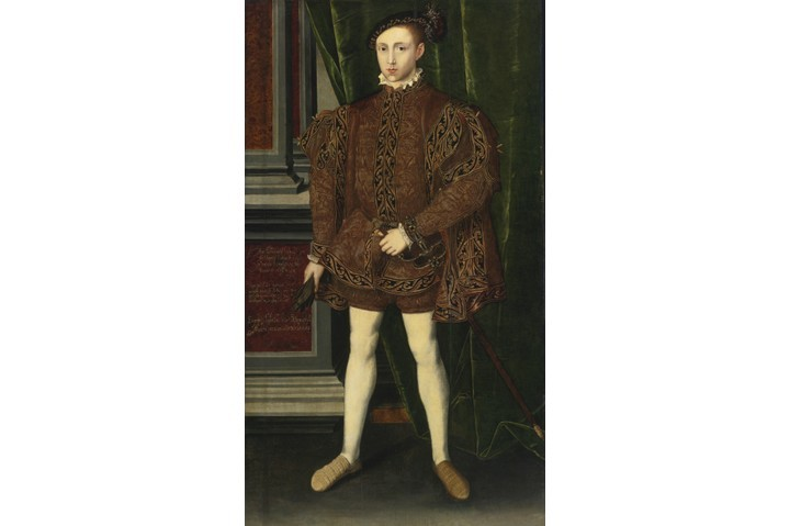 A portrait of King Edward VI of England. (Photo by Fine Art Images/Heritage Images/Getty Images)