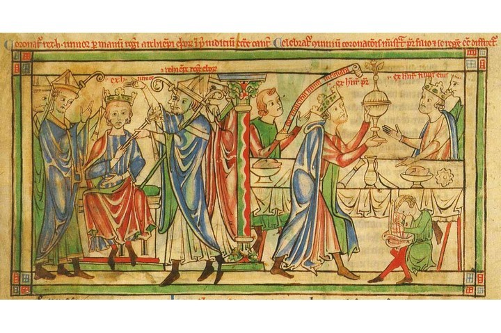 Henry the Young King is crowned