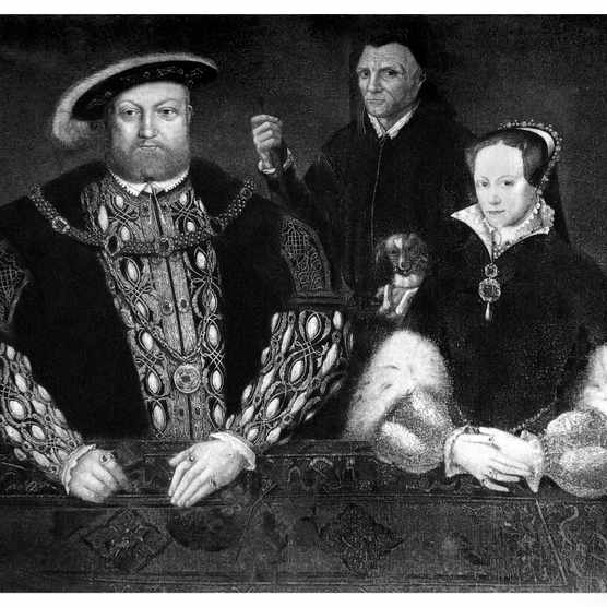 Henry VIII, Princess Mary and William Somers
