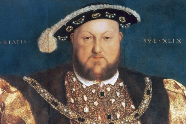 Holbein portrait of Henry VIII
