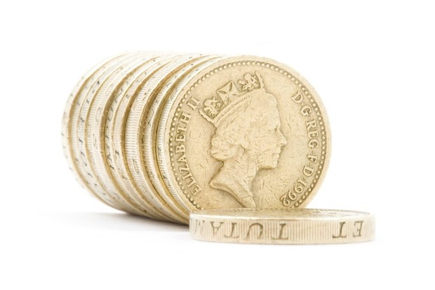Photo of British coins