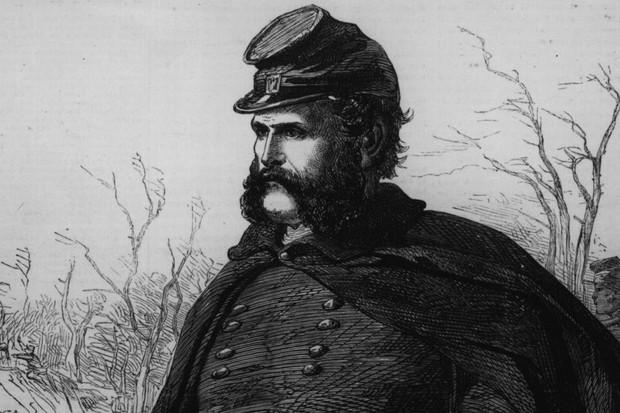 Picture of General Ambrose Everett Burnside