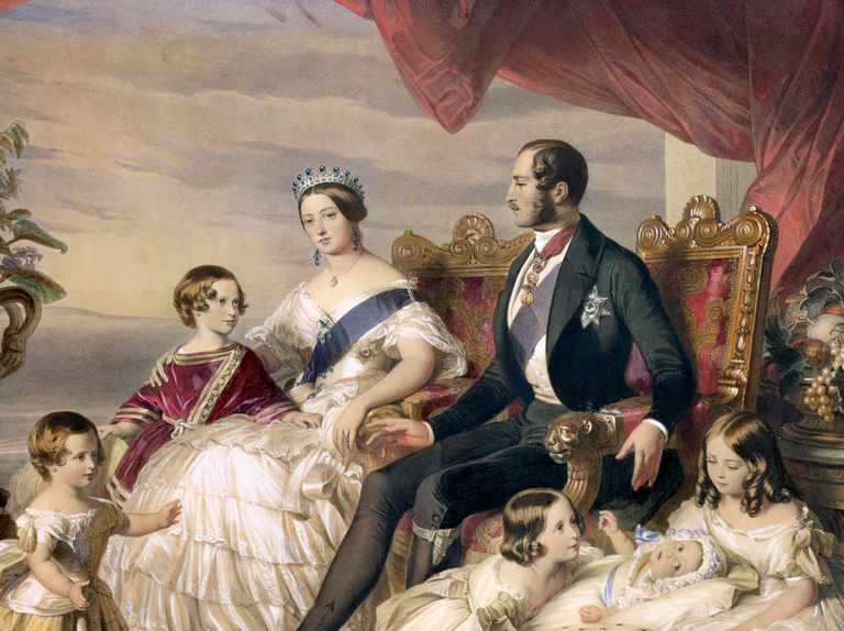 Who were Prince Albert's family, the Saxe-Coburg-Gothas?