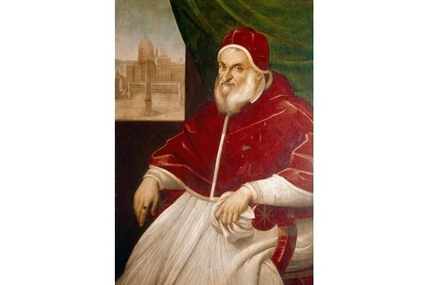 Pope Sixtus V. (© SuperStock / Alamy)
