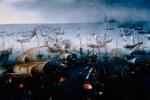 Spanish Armada Facts When Where Who Fought Queen Elizabeth Is
