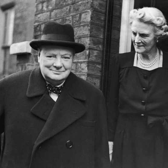 Contrasting biographies of iconic leader Winston Churchill show how perceptions of historical figures change with the passing of time, says David Cannadine. (Photo by Keystone/Hulton Archive/Getty Images)