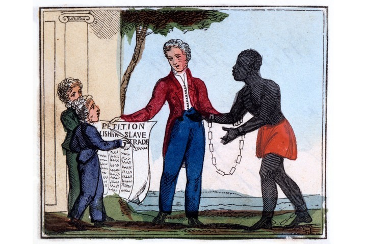 An 1826 illustration from 'The Black Man's Lament