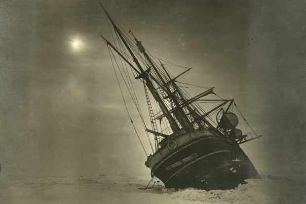 The Endurance, the ship of Ernest Shackleton