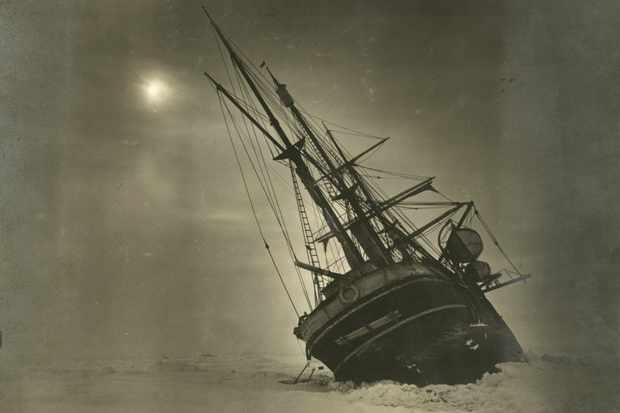 The Endurance, the ship of Ernest Shackleton