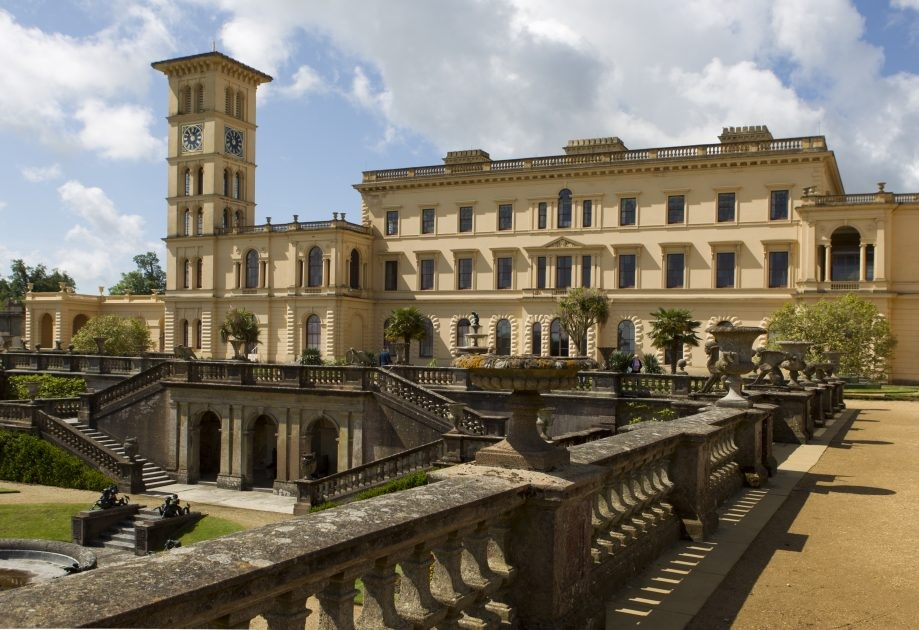 Osborne House from terrace.