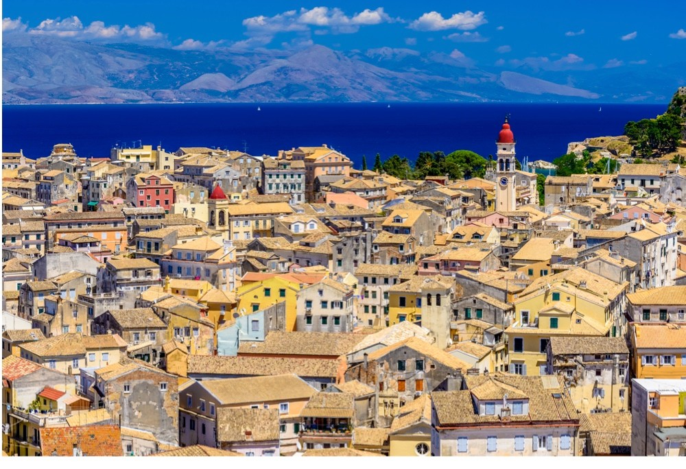Corfu: a Greek island getaway that owes much of its popularity to the Venetians. (Getty Images)