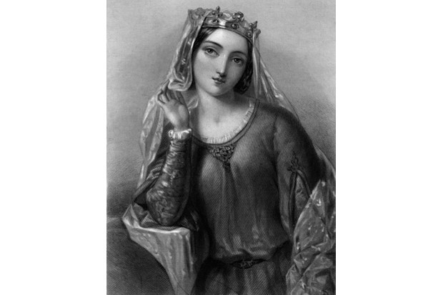 Isabella of Angouleme, queen consort of King John. (Photo by The Print Collector/Print Collector/Getty Images)